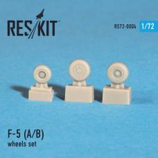 F-5 (A/B) смоляные колеса (1/72)