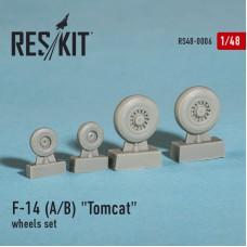 """F-14 (A/B) """"Tomcat""""  смоляные колеса  (1/48)"""