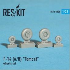 """F-14 (A/B) """"Tomcat"""" смоляные колеса (1/72)"""