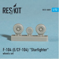 "F-104 (E) CF-104 ""Starfighter"" смоляные колеса (1/72)"
