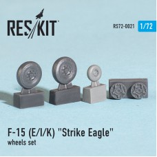 "F-15 (E/I/K) ""Strike Eagle"" смоляные колеса (1/72)"