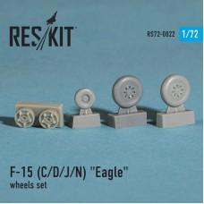 """F-15 (C/D/J/N) """"Eagle"""" смоляные колеса (1/72)"""