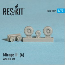 Mirage III (A) смоляные колеса (1/72)