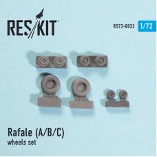 Rafale (A/B/C) смоляные колеса (1/72)