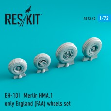 EH-101  Merlin HMA.1 only England (FAA) wheels set  (1/72)