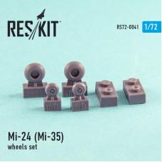 Mi-24 (Mi-35) смоляные колеса (1/72)