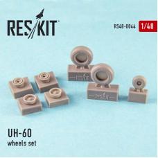 UH-60 (all versions) wheels set (1/48)