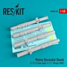 Matra Durandal Bomb (4 штуки) (1/48)
