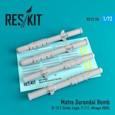 Matra Durandal Bomb (4 штуки) (1/72)