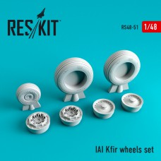 IAI Kfir смоляные колеса (1/48)