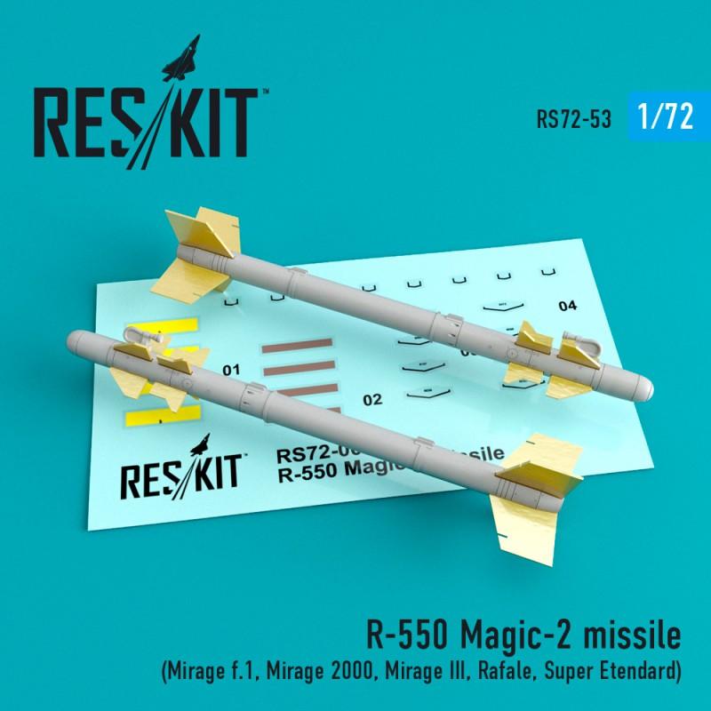 R-550 Magic-2 missile (4 штуки)