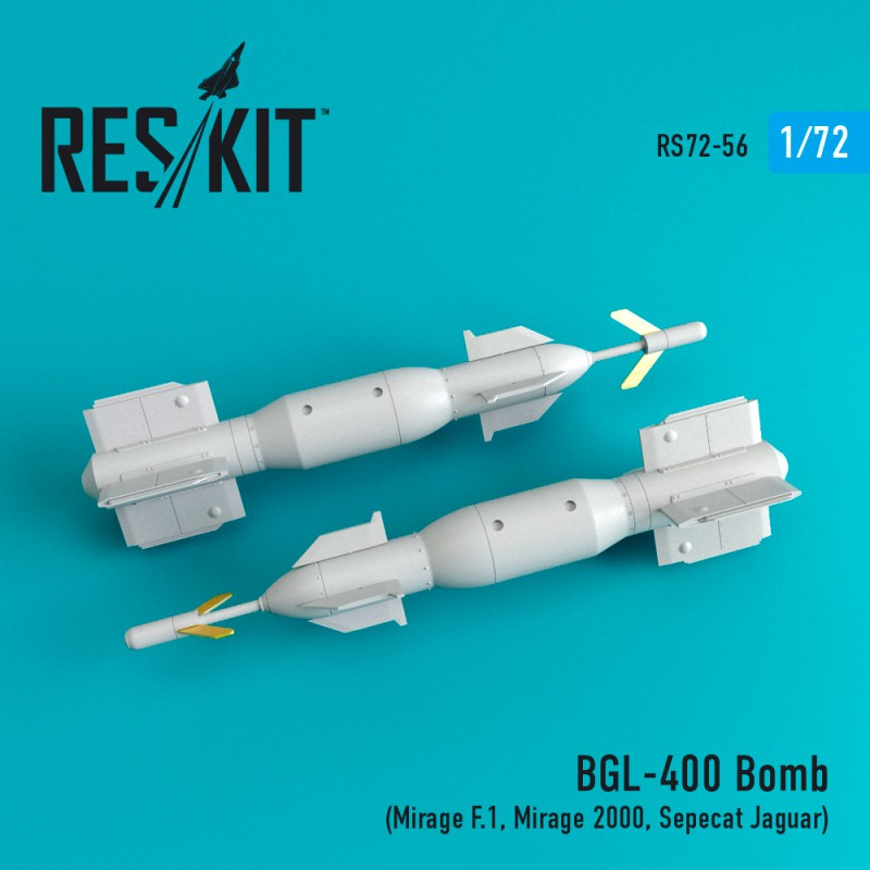 BGL-400 Bomb  (2 штуки) 1/72