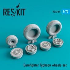 Eurofighter Typhoon смоляные колеса (1/72)