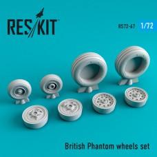 British Phantom смоляные колеса  (1/72)