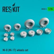 Mi-8 (Mi-17) смоляные колеса 1/35
