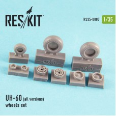 UH-60 (all versions) wheels set (1/35)