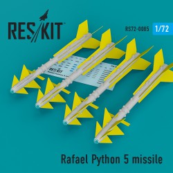 Rafael Python 5 missile (4 штуки) (1/72)