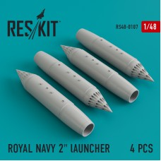 "ROYAL NAVY 2"" lAUNCHER   (4 штуки) (1/48)"