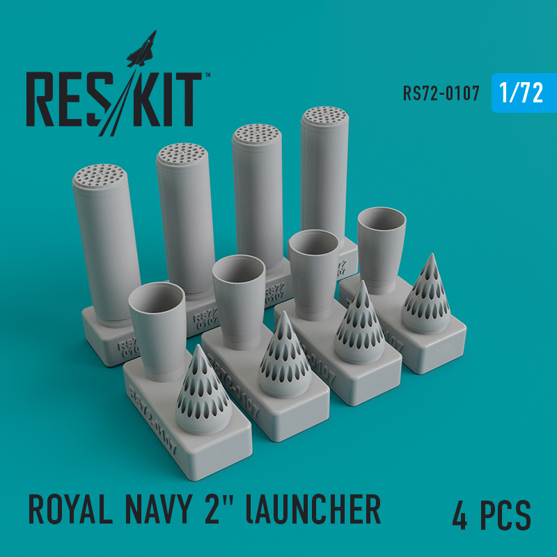 "ROYAL NAVY 2"" lAUNCHER   (4 штуки) (1/72)"
