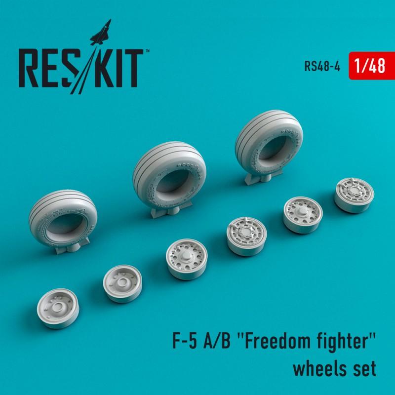 F-5 (A/B) Freedom Fighter смоляные колеса (1/48)