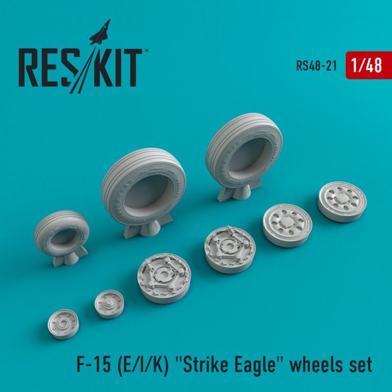 "F-15 (E/I/K) ""Strike Eagle"" смоляные колеса (1/48)"