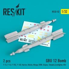 GBU 12 Bomb (2 штуки)  (1/32)