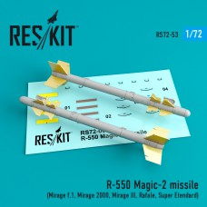 R-550 Magic-2 missile (4 штуки) (1/72)