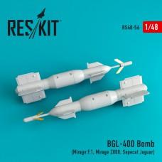 BGL-400 Bomb  (2 штуки) (1/48)