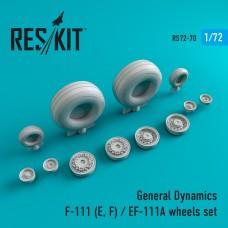 F-111 (E, F) / EF-111A смоляные колеса  (1/72)
