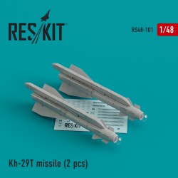 Kh-29T (AS-14B 'Kedge) missile (2 штуки) (1/48)