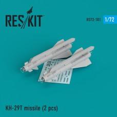 Kh-29T (AS-14B 'Kedge) missile (2 штуки) (1/72)