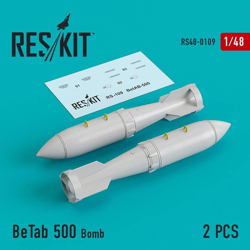 BeTab 500 Bomb (2 штуки) (1/48)