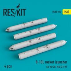 B-13L Rocket launcher (4 штуки) (1/32)