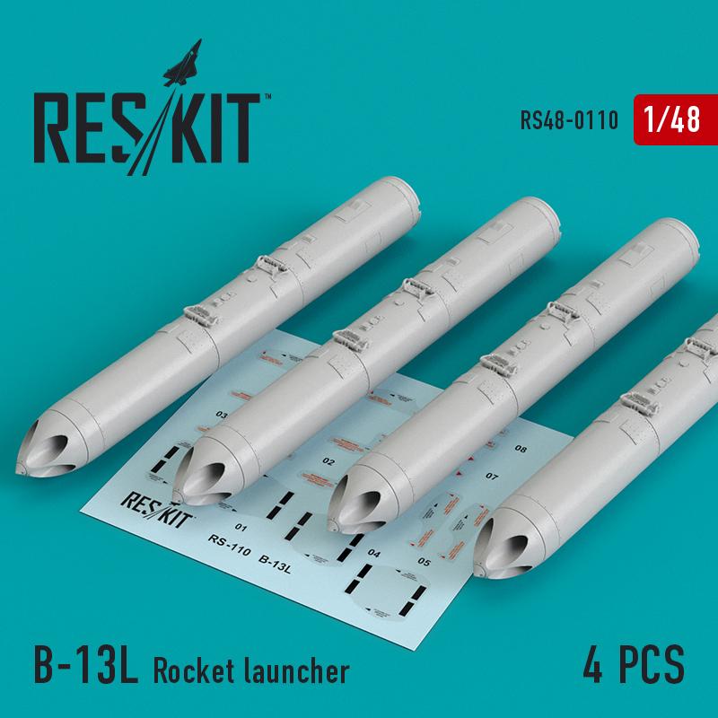 B-13L Rocket launcher (4 штуки) (1/48)