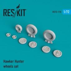 Hawker Hunter  смоляные колеса (1/72)