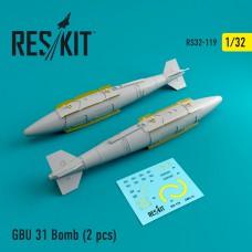 GBU 31 Bomb (2 штуки) (1/32)