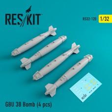 GBU 38 Bomb (4 штуки) (1/32)