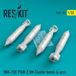 RBK-250 PTAB-2,5M Cluster bomb  (4 штуки) (1/32)