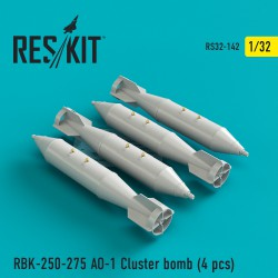 RBK-250-275 AO-1 Cluster bomb  (4 штуки) (1/32)