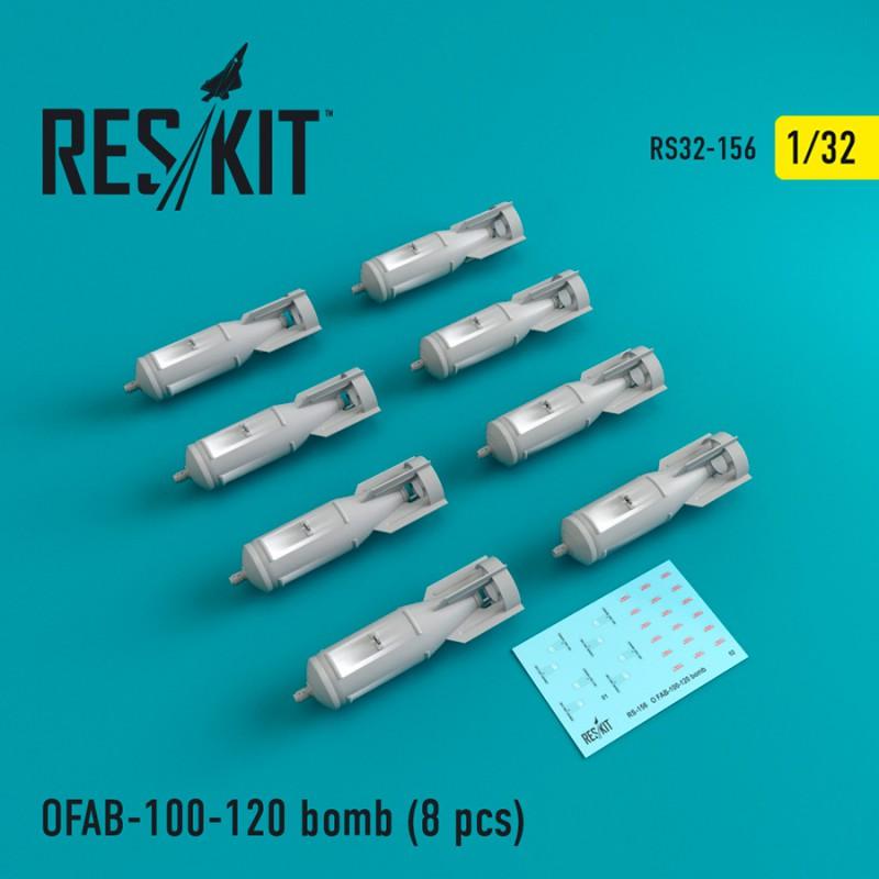 ОФАБ-100-120 бомба (8 штук) (1/32)