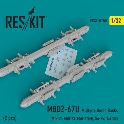 MBD2-67U Multiple Bomb Racks  (2 штуки) (1/32)