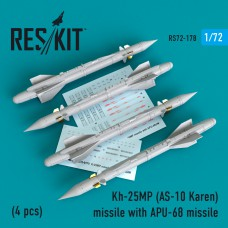 Kh-25MP (AS-10 Karen) missile  with APU-68  (4 штуки)   (1/72)