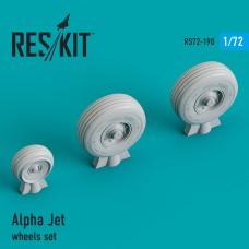 Alpha Jet смоляные колеса (1/72)
