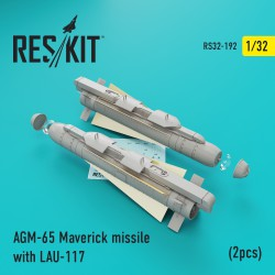 AGM-65 Maverick missile with LAU-117  (2 штуки) (1/32)