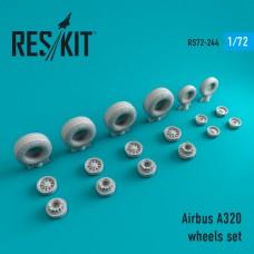 A320 смоляные колеса (1/72)
