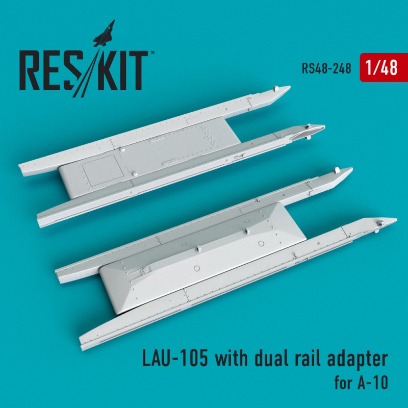 LAU-105 with dual rail adapter (2 штуки)   (1/48)