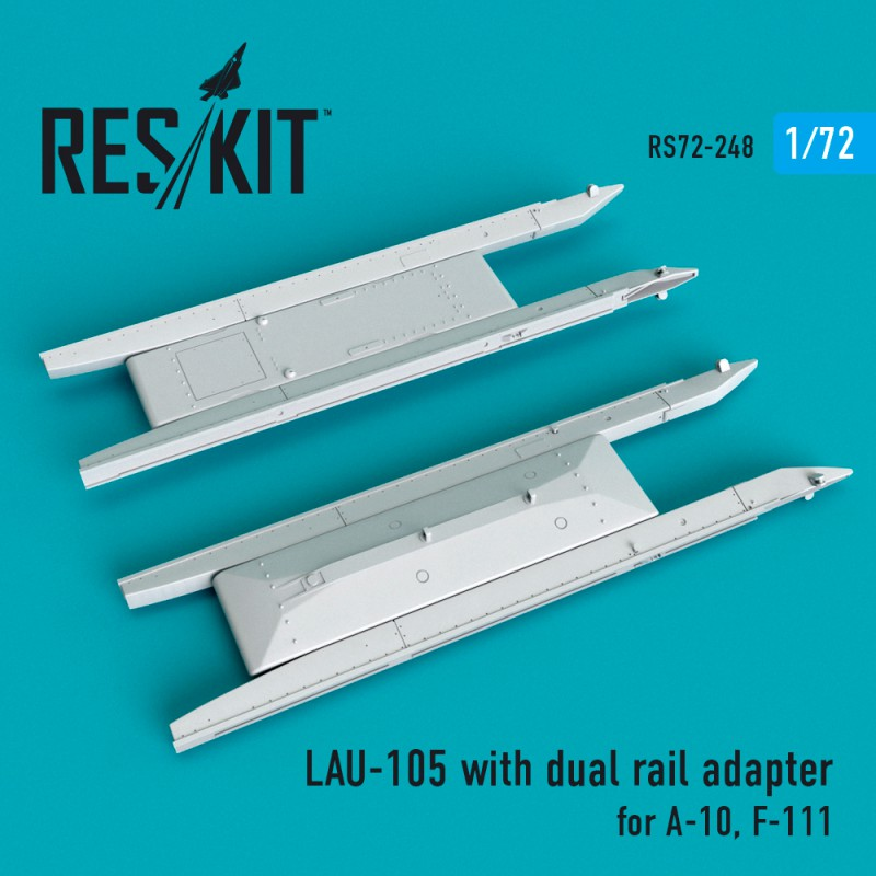 LAU-105 with dual rail adapter (2 штуки)   (1/72)