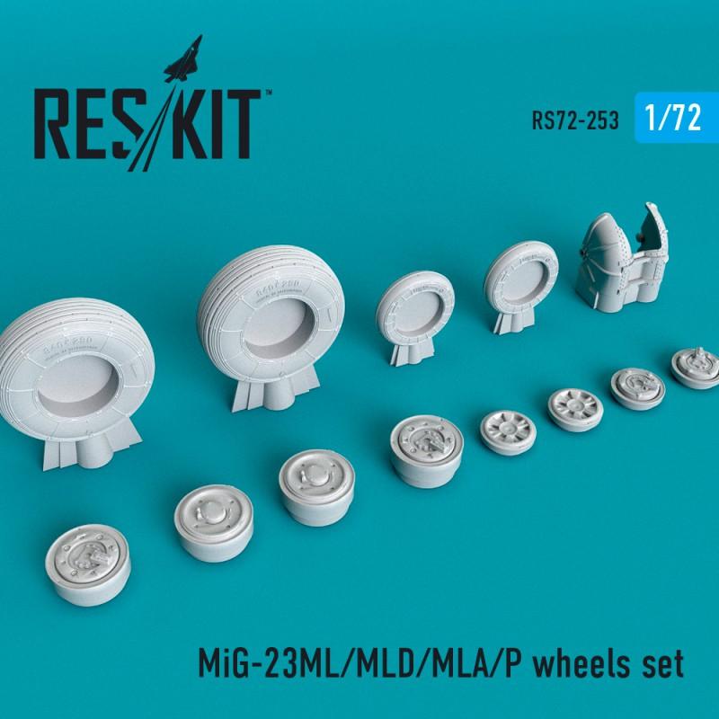 MiG-23 (ML/MLD/MLA/P) смоляные колеса (1/72)