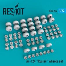 An-124 Ruslan смоляные колеса (1/72)