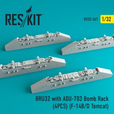 BRU32 with ADU-703 Bomb Rack (4 штуки)   (1/32)